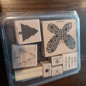 ♡STAMPIN UP SCRAPBOOK STAMPS/ RETIRED 2004